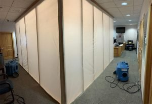 mold removal hallway